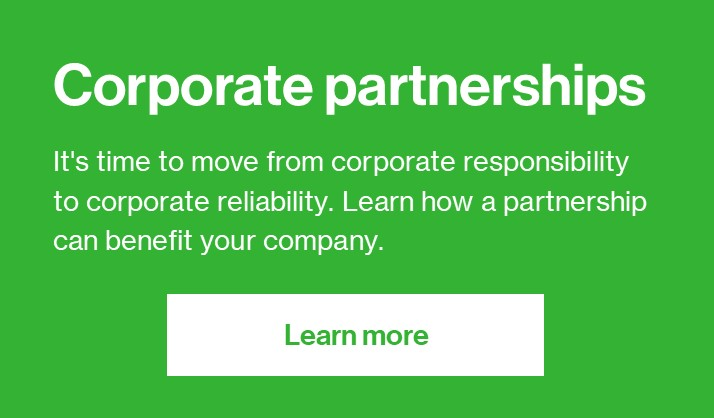 Corporate Partners Button