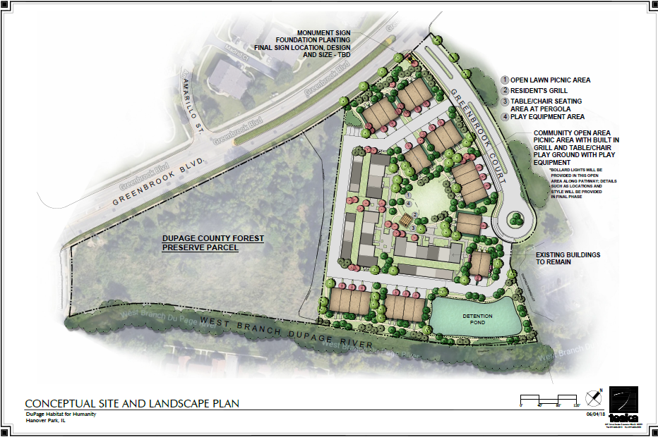 Greenbrook Court Concept Site Plan