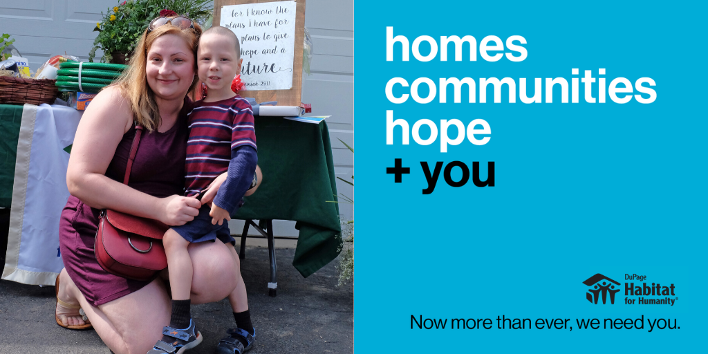 Homes Community Hope + you