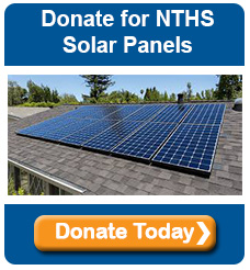 New Trier HS Solar Panel donation button