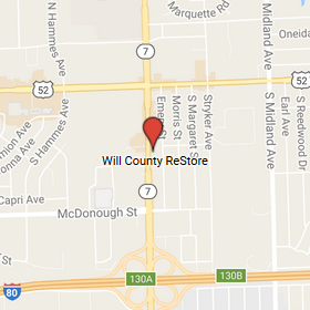 Will County ReStore Map