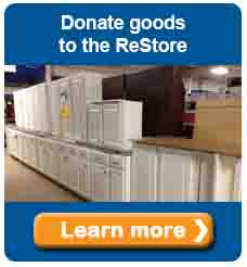 Donate goods to the ReStore
