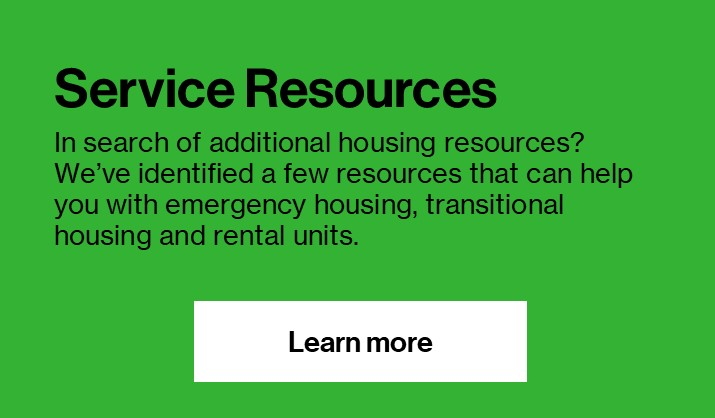 Service Resources Button
