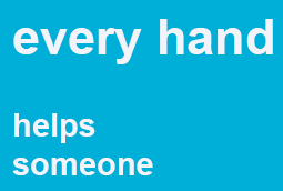 every hand helps someone