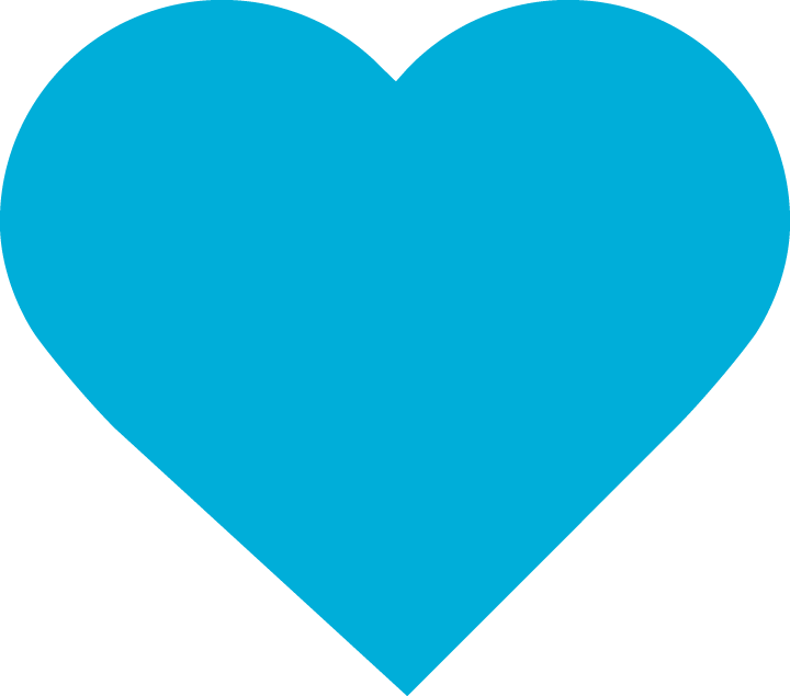 Heart Icon Blue