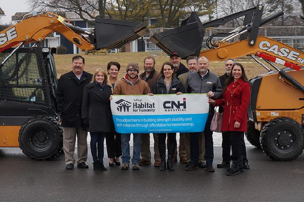CNH Industrial Equipment Donation